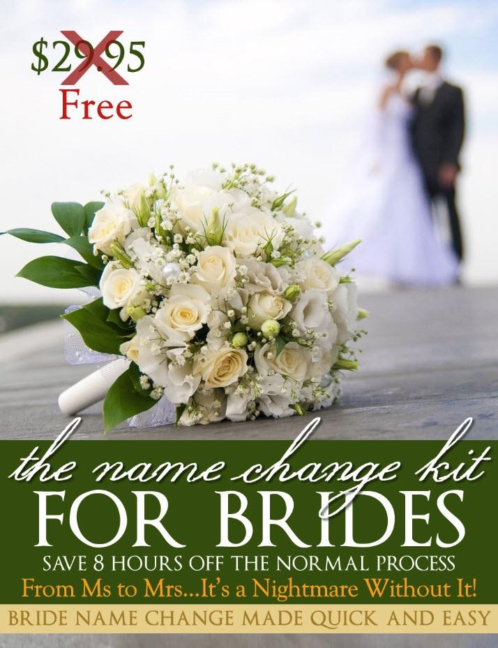 Free Name Change Kit picture