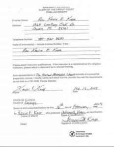 Pinellas County Marriage License Information - Orlando