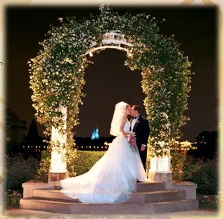 Outside of Disney's Wedding Pavilion