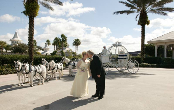 Disney's Wedding send off