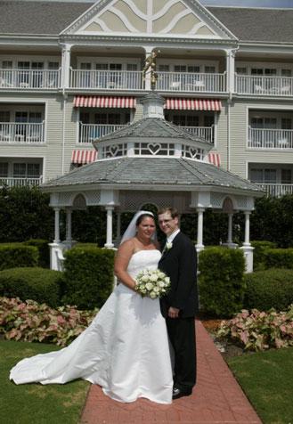 Disney's Yacht Club Wedding