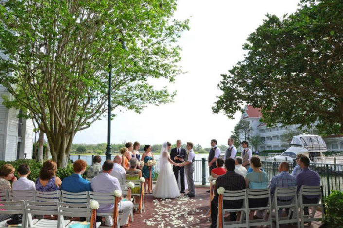 Disney Wedding at Sago Cay